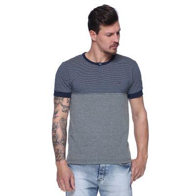 Camiseta-College-com-Botao-Frente--