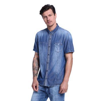 Camisa-Masculina-Manga-Curta-Frente--
