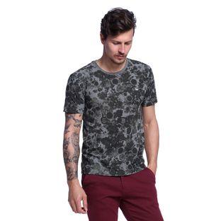 Camiseta-Masculina-Floral-Frente--