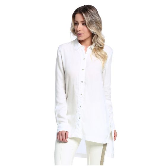 Camisa Feminina Long Line