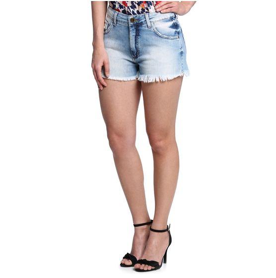 Mini Shorts Cintura Alta