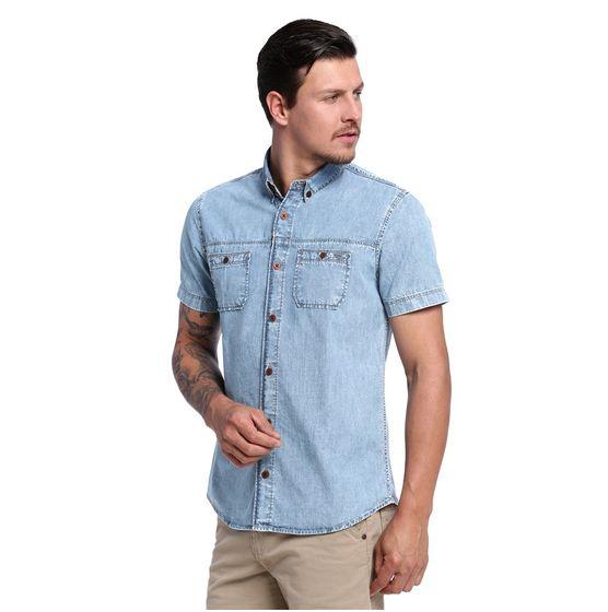 Camisa Masculina Jeans