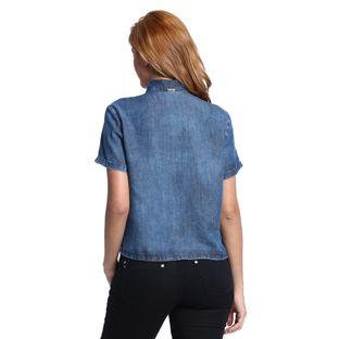 Camisa-Jeans-Feminina-Gola-Laco-Costas--
