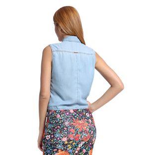 Camisa-Feminina-Jeans-sem-Manga-Costas--