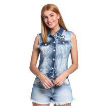 Colete-Feminino-Jeans-Rasgado-Frente--