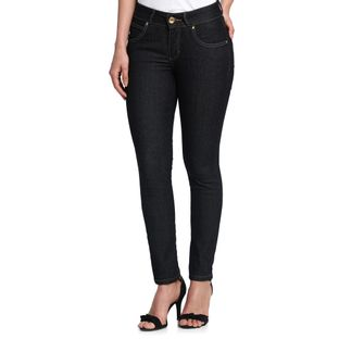 Calca-Jeans-Cigarrete-Feminina-Escura-Frente--