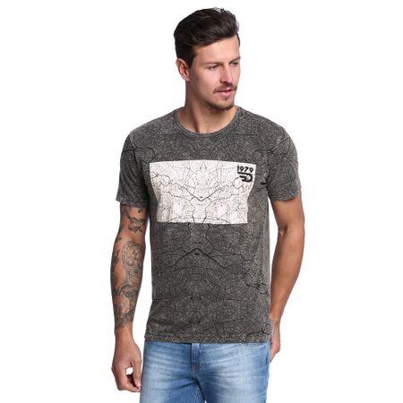 Camiseta-Masculina-Print-Map-Frente--