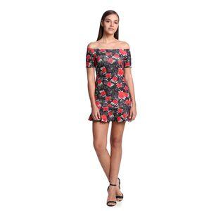 Vestido-Floral-Ombro-a-Ombro-Frente--