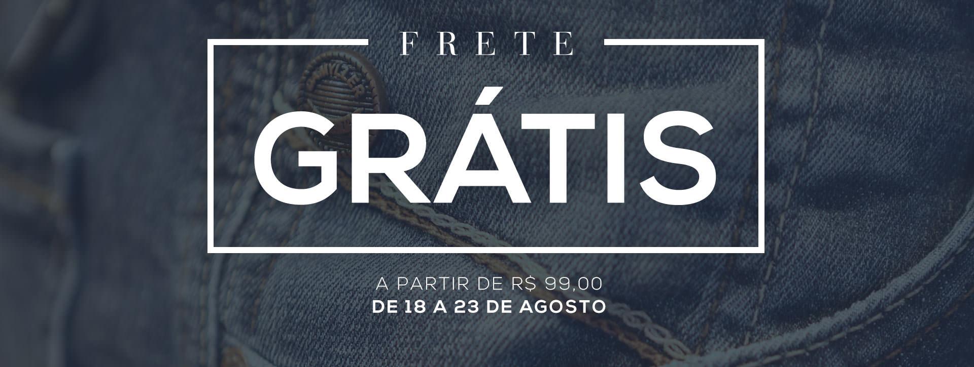 Frete Grátis 99,00