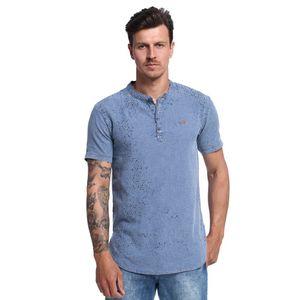 Camiseta-Long-Line-Jeans-Frente--