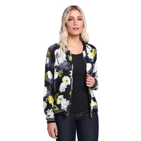 Jaqueta-Feminina-Bomber-Floral-Frente--