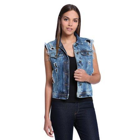 Colete-Jeans-Animal-Print-Frente--