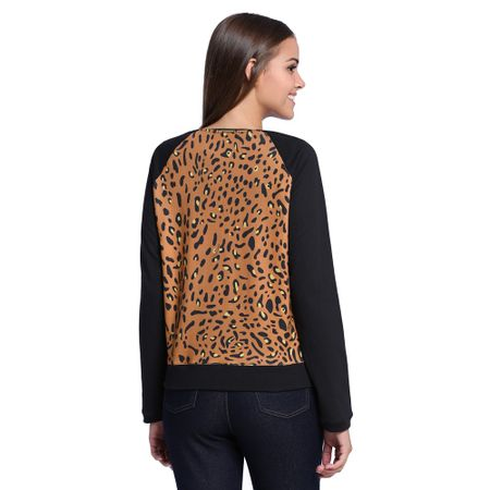 Moletom-Preto-Estampa-Animal-Print-Costas--