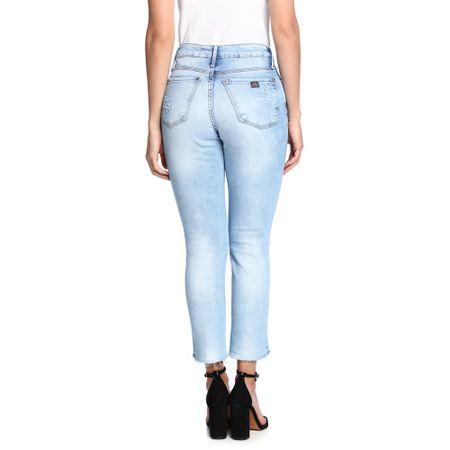 Calca-Jeans-Reta-Cintura-Alta-Feminina-Costas--