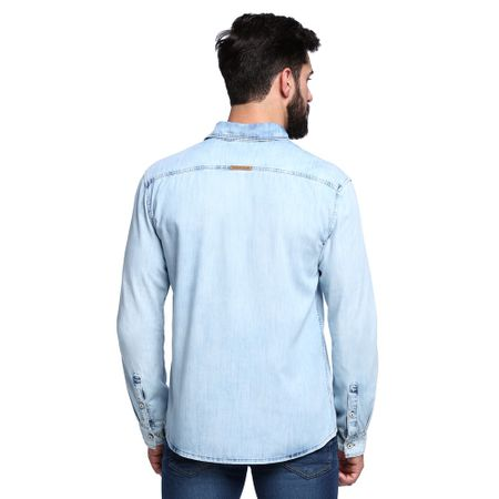 Camisa-Jeans-Manga-Longa-Masculina-Costas--