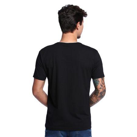 Camiseta-Decote-V-Masculina-Costas--