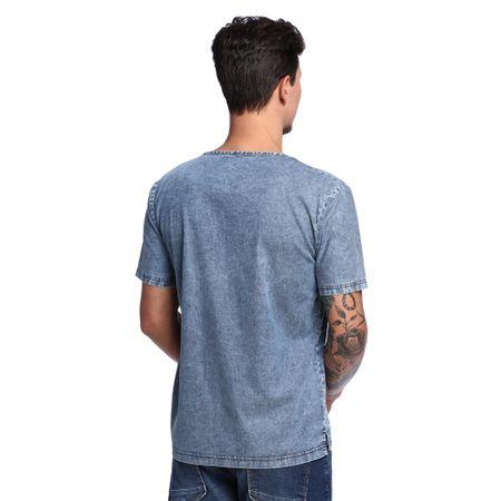 Camiseta-Jeans-de-Listras-Masculina-Costas--