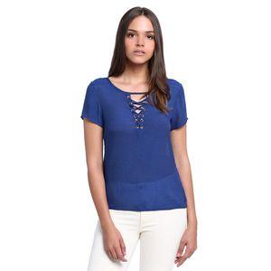 Blusa-Decote-Amarracao-Feminina-Frente--