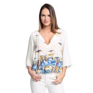 Blusa-Decote-V-Feminina-Frente--