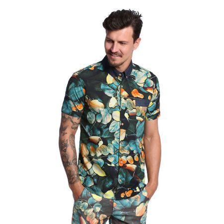 Camisa-Estampada-Masculina-Frente--
