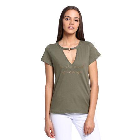 Camiseta-Decote-Vazado-Feminina-Frente--