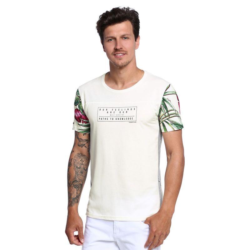 Camiseta-Manga-Estampada-Unissex-Frente--
