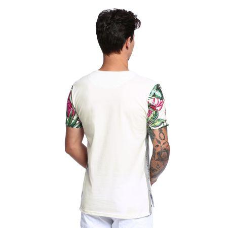 Camiseta-Manga-Estampada-Unissex-Costas--