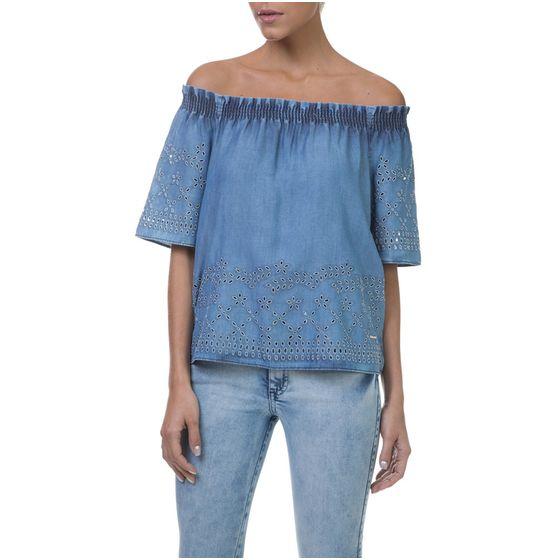 Blusa-Ciganinha-Jeans-Feminina-Frente--