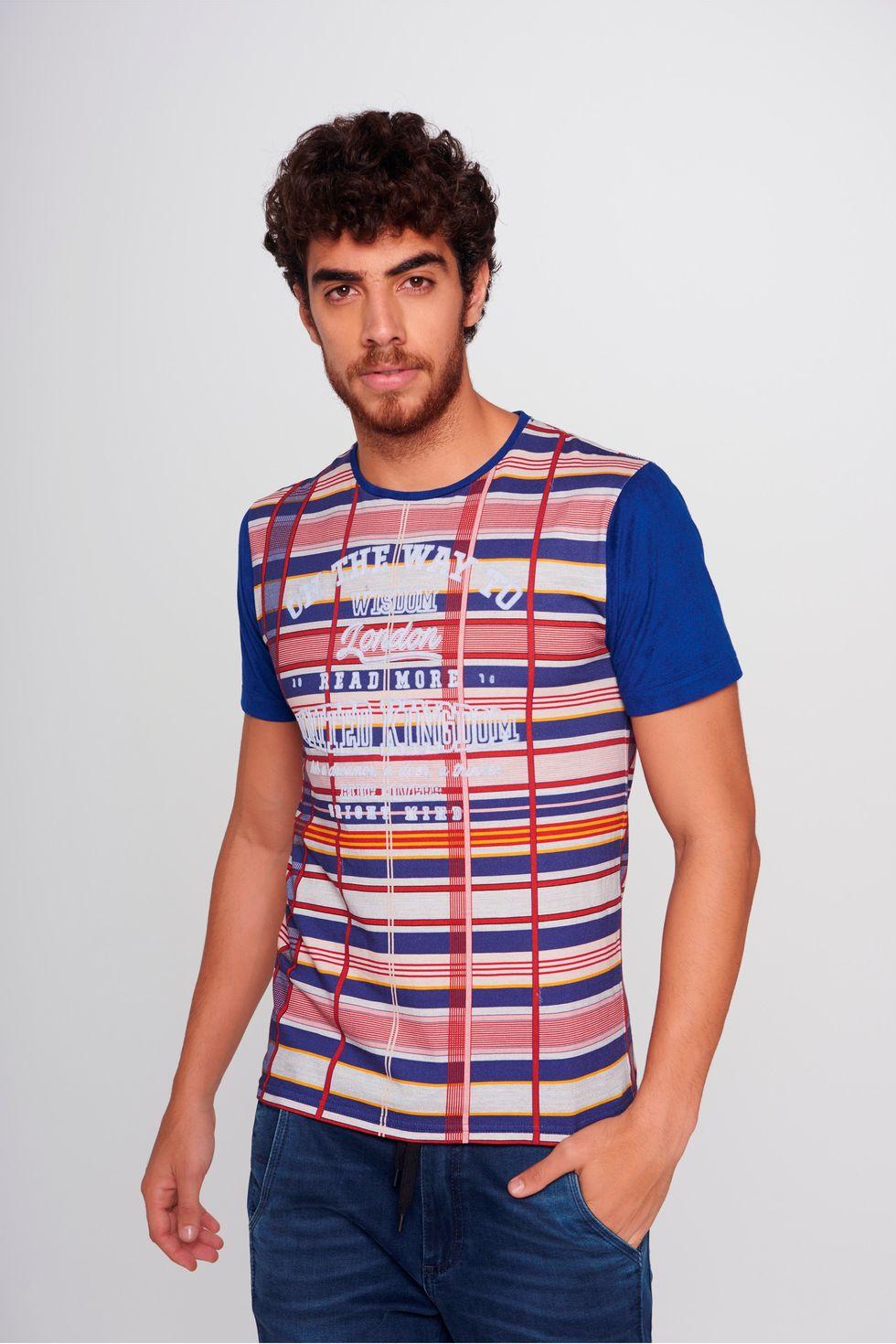 Camiseta-Xadrez-Masculina-Frente--