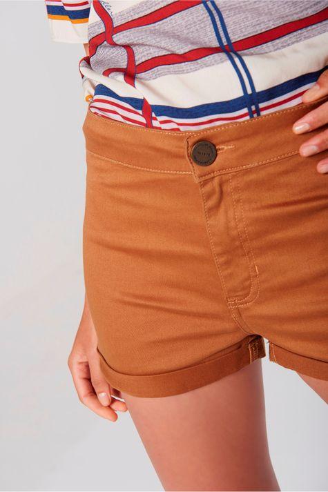 Shorts-Color-Cintura-Alta-Feminino-Frente--