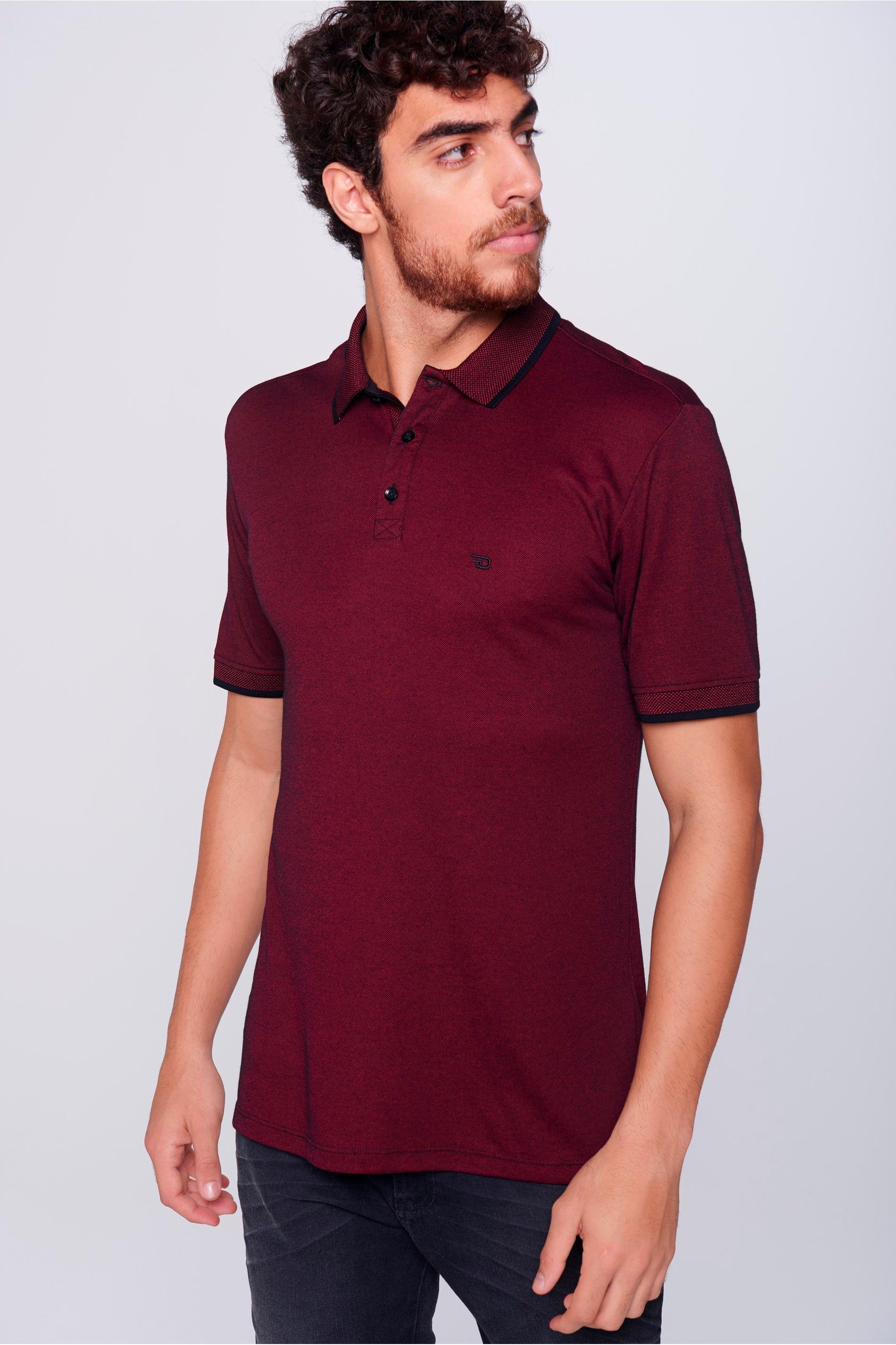 Camisa Gola Polo Masculina - Damyller 58d6587a7ec8d