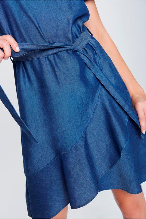 Vestido-Jeans-Secretaria-Frente--