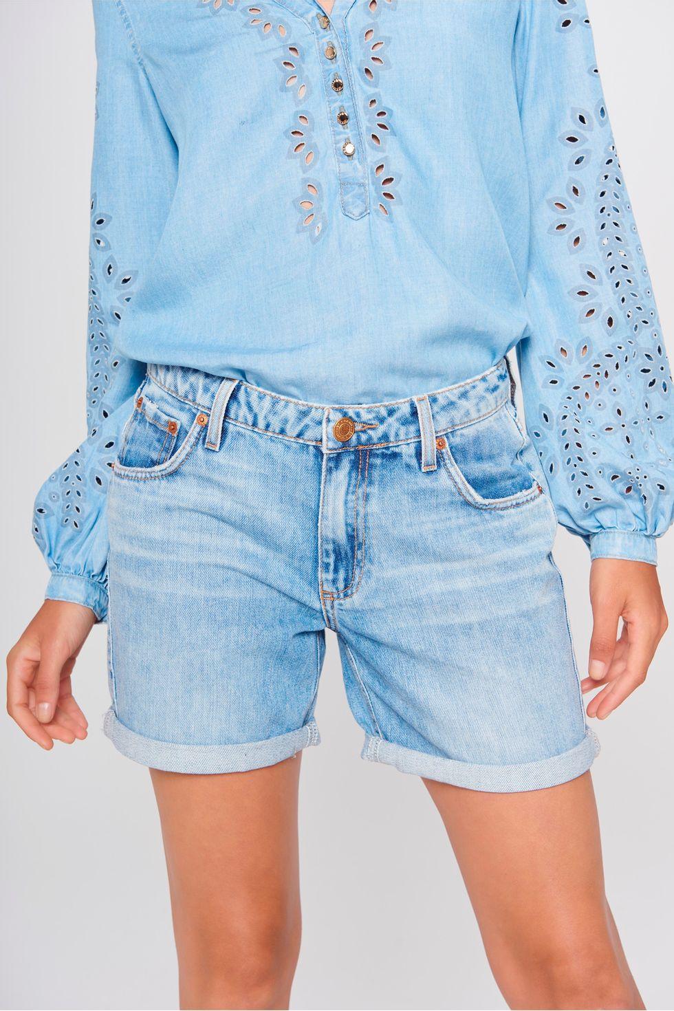 Bermuda-Jeans-Solta-Feminina-Detalhe--