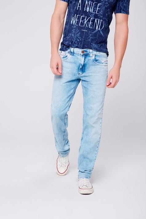 Calça Jeans Reta Masculina - Damyller fd383949137