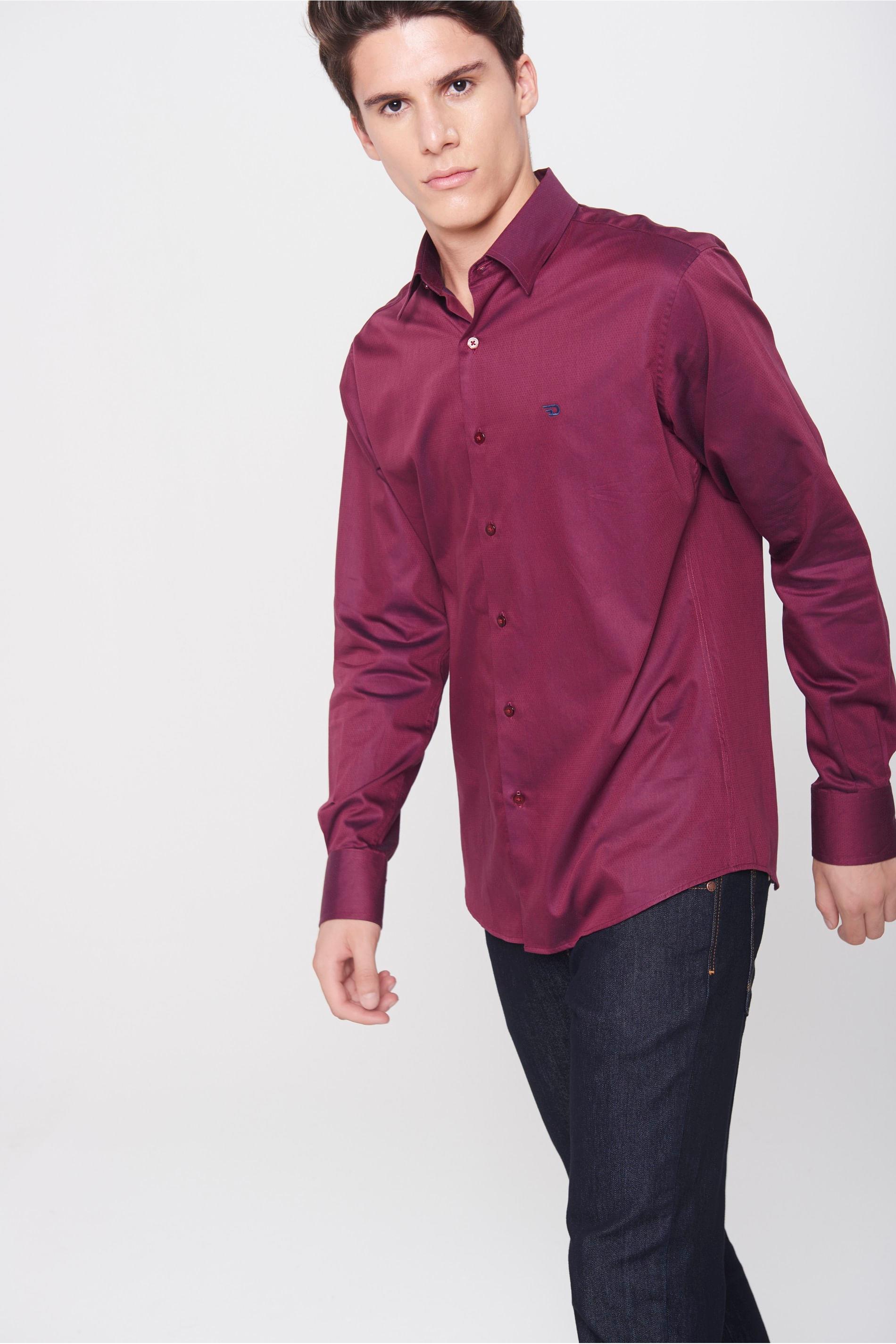 f510c891601aa Camisa Manga Longa Masculina - Damyller