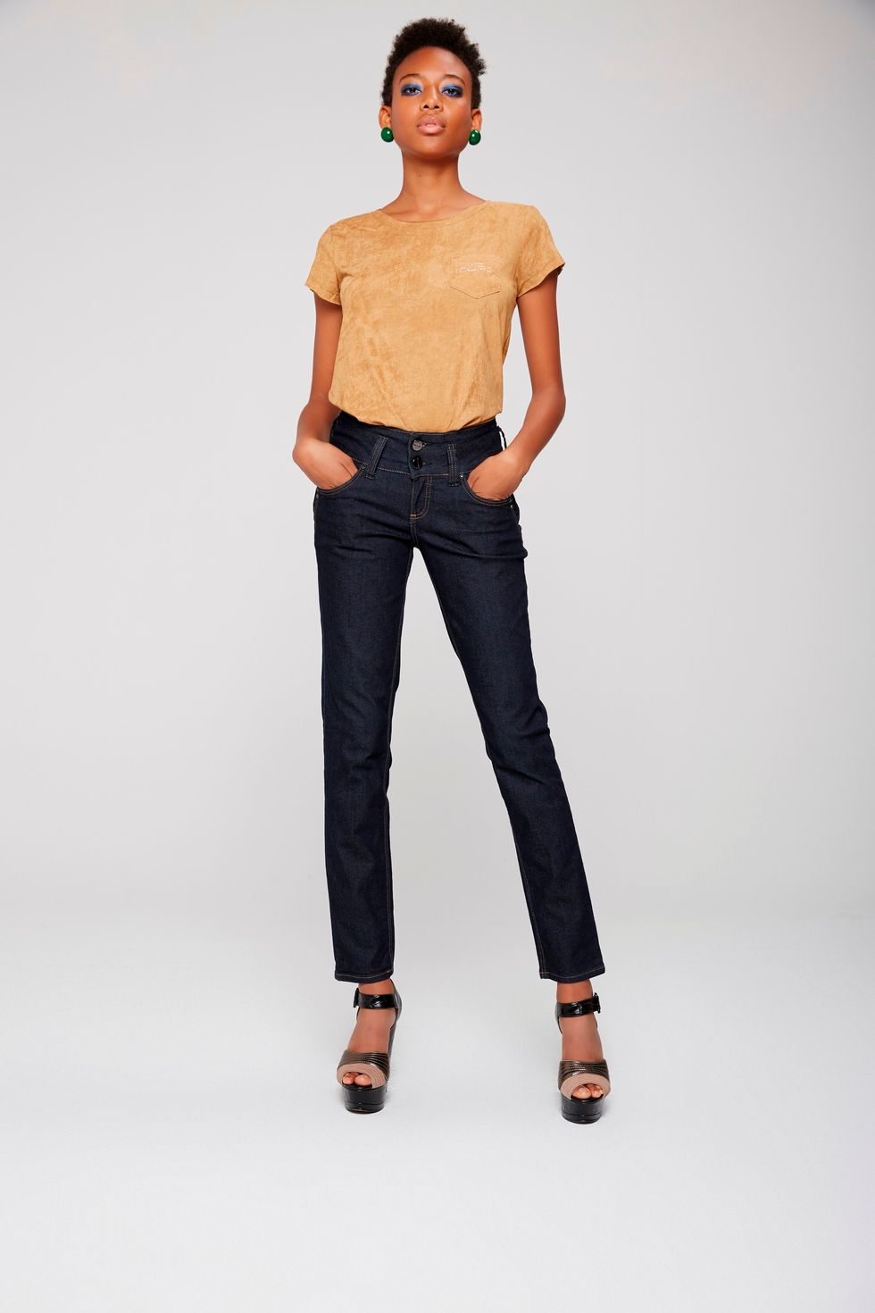 Calca-Jeans-Cigarrete-Azul-Escura-Frente--