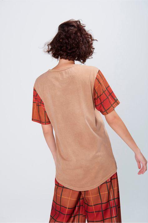 Camiseta-Manga-Xadrez-Unissex-Costas--