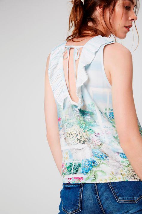 Blusa-Detalhe-Plissado-Feminina-Costas--