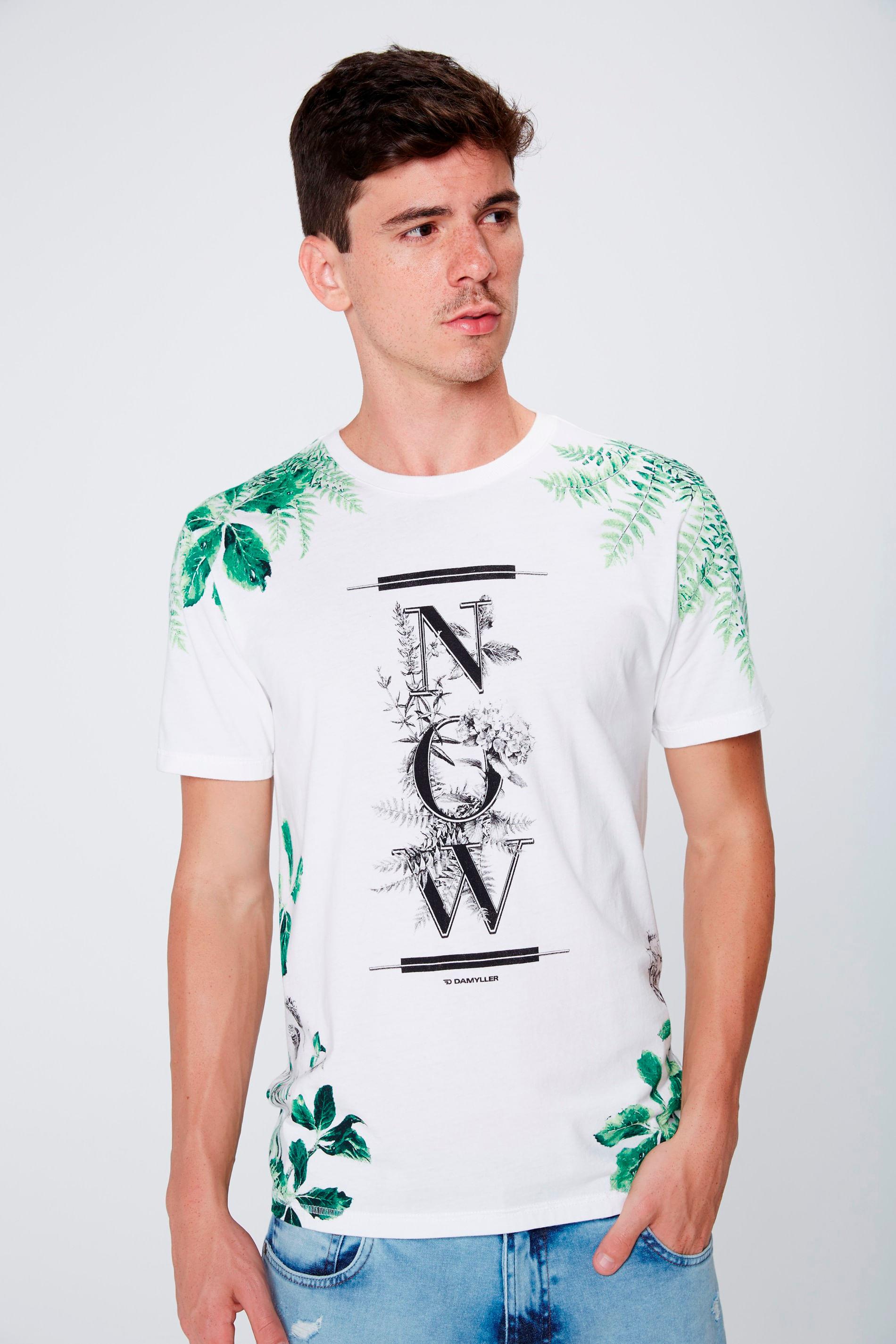 Camiseta Estampada Unissex - Damyller cfefa0cce87