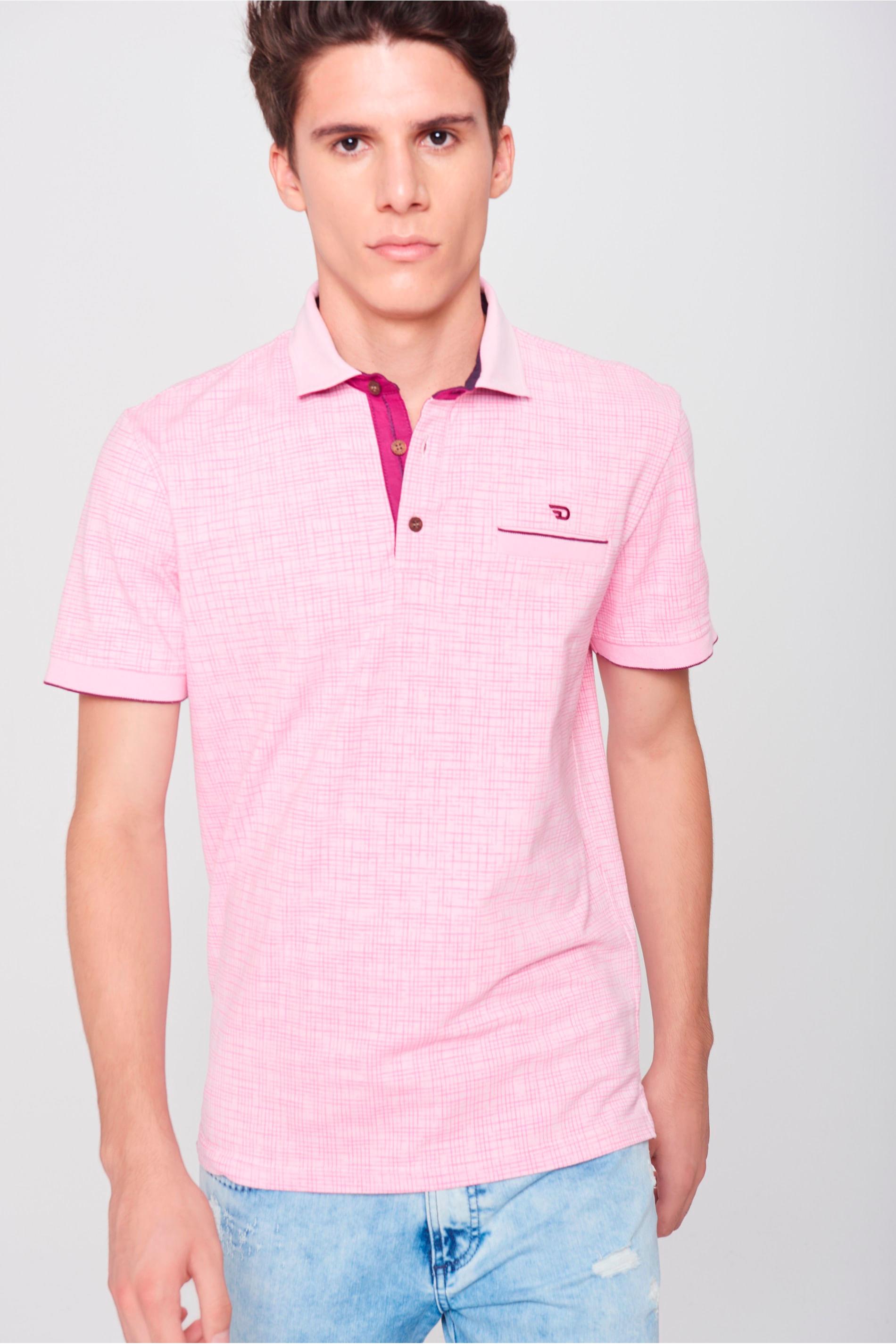 08a7fad722 Camisa Gola Polo Masculina - Damyller