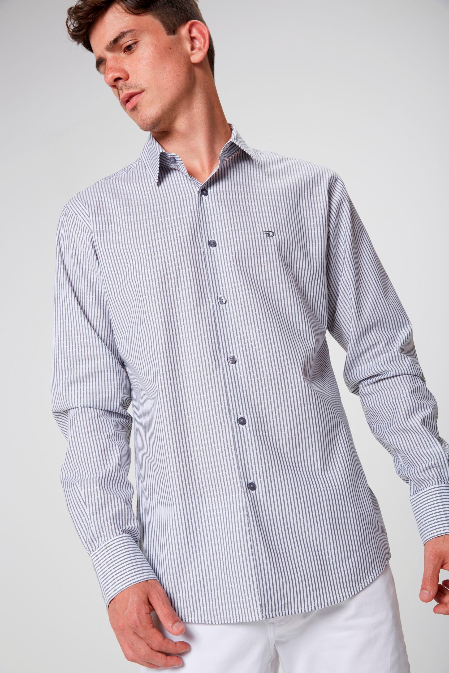 10e077da95 Camisa Social Masculina - Damyller