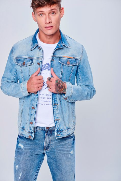 Jaqueta-Jeans-Trucker-Unissex-Frente-Feminina--