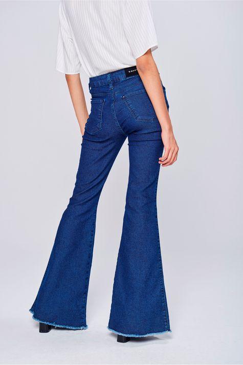 Calca-Jeans-Flare-Feminina-Costas--