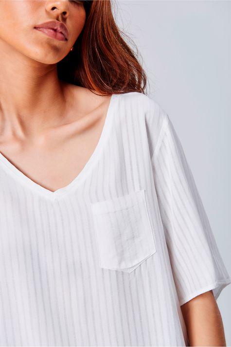 Camiseta-Decote-V-Feminina-Frente--