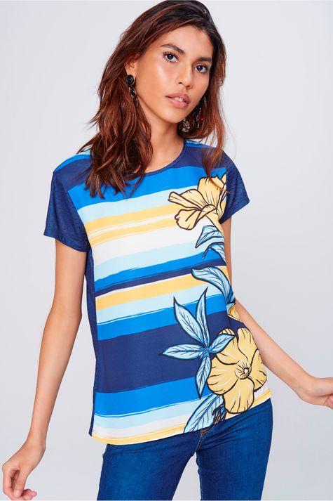 Camiseta-de-Listras-Feminina-Frente--