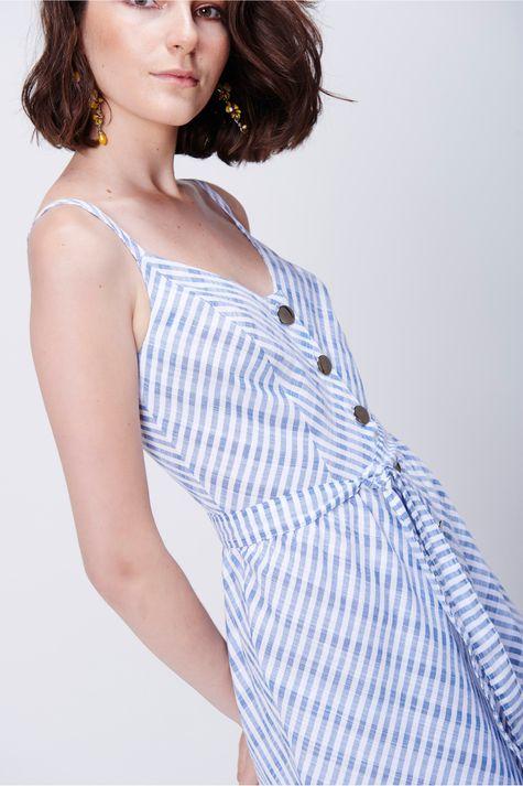 Vestido-Midi-Listrado-com-Botoes-Detalhe--
