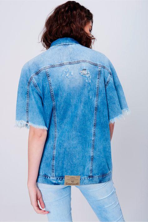 Jaqueta-Jeans-Feminina-Manga-Curta-Frente--