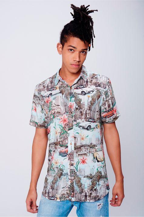 Camisa-Estampada-Unissex-Frente--