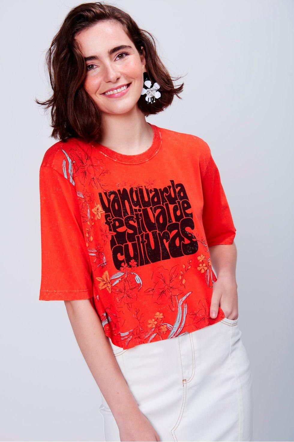 Camiseta-Feminina-Cropped-Estampada-Frente--