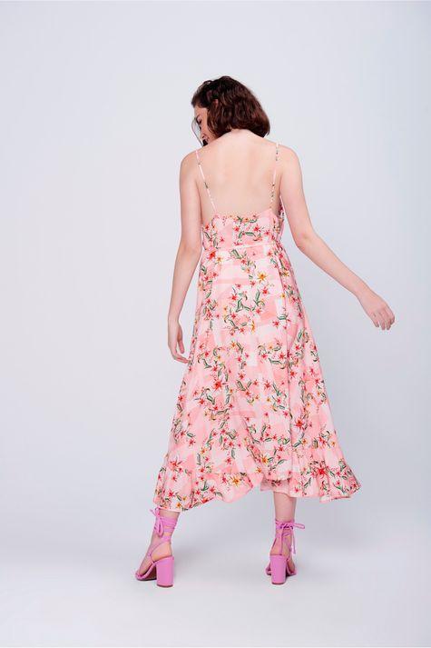 Vestido-Midi-Floral-Babado-Barra-Detalhe--